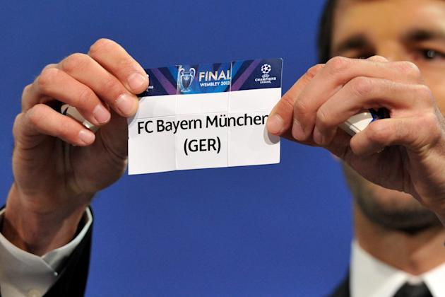 UEFA Champions League and UEFA Europa League - Semi Finals Draw