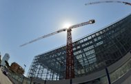 A construction site in the Italian capital Rome. Italy's economy shrank by 0.7 percent in the second quarter, increasing the pressure on Mario Monti's government to balance austerity with growth measures as the country wallows deep in recession