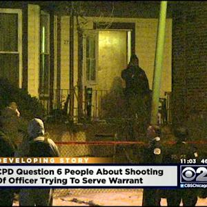 Officer Shot While Executing Search Warrant