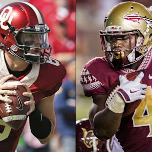 Time for Mayfield, Cook to make Heisman statements