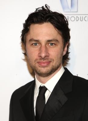 Zach Braff arrives at the 20th Annual Producers Guild Awards held at the Palladium on January 24, 2009 in Hollywood, California -- Getty Images
