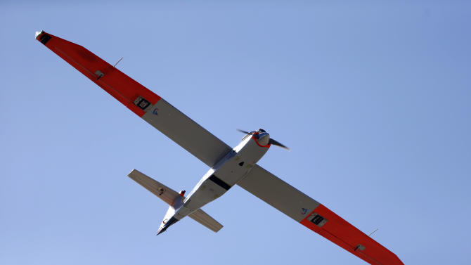 Texas drone research center conducting tests