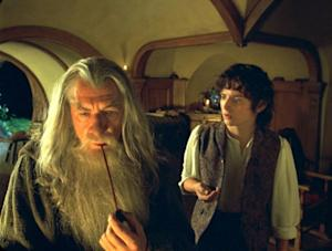 Ian McKellen and Elijah Wood in 2001's 'The Lord of the Rings: The Fellowship of the Ring' -- WireImage