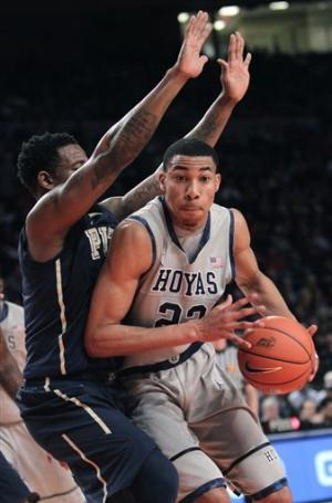 No.13 Hoyas beat Pitt 64-52 in Big East 2nd round