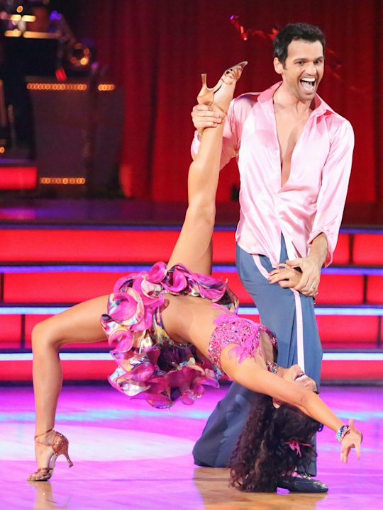 Melissa Rycroft and Tony Dovolani (10/8/12)