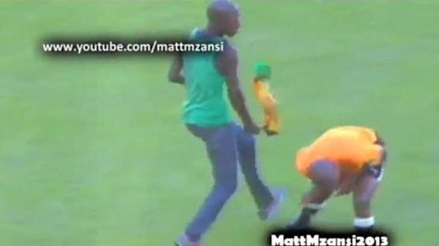 Fan ATTACKS Referee with a Vuvuzela