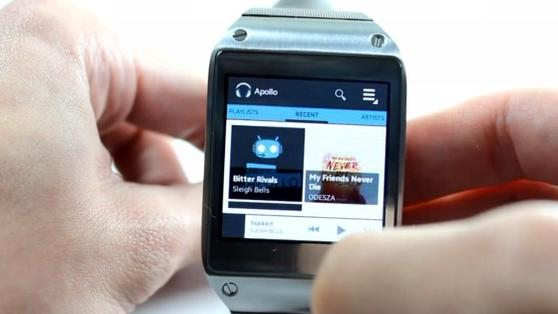 DNP Hacking the Galaxy Gear to sideload traditional Android apps video