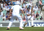 England's Ian Bell during the first Test against South Africa