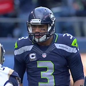 Russell Wilson's legs or arms?