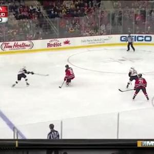 Cory Schneider Save on Chris Kelly (02:16/2nd)