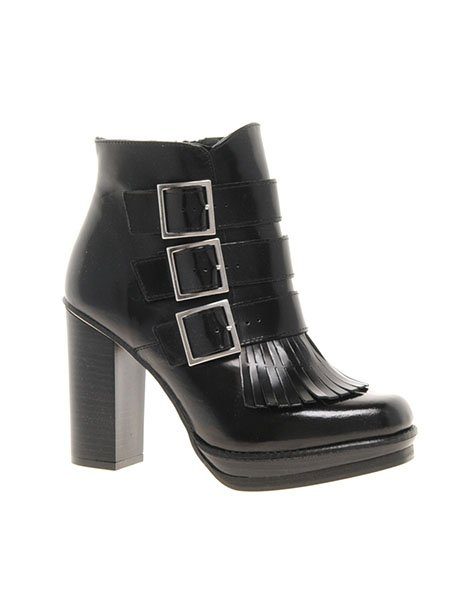 Alliance leather ankle boots, $149.51, asos.com