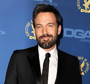 "Ben Affleck Wins Directors Guild Award for Argo: ""I'm on My Way"""