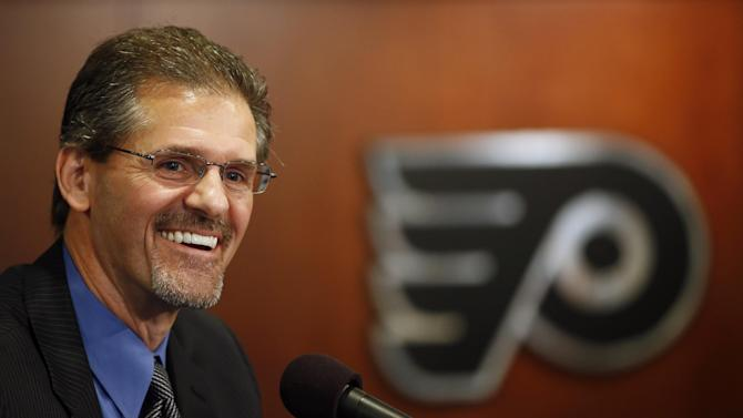 Flyers promote Ron Hextall to general manager