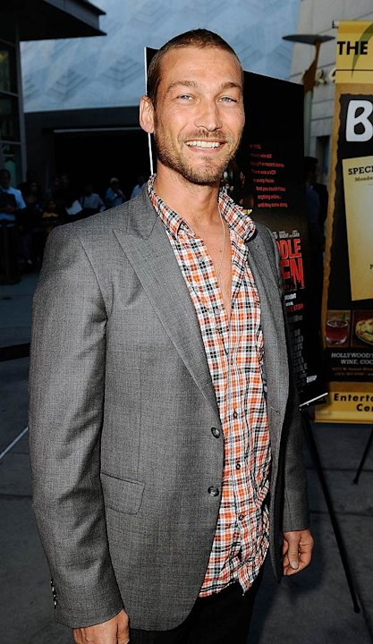 Andy Whitfield Middle Men Premiere