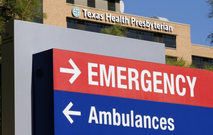 Thomas Eric Duncan died at Texas Health Presbyterian on Wednesday. (Jim Young/Reuters)