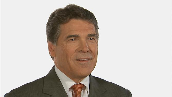 Gov. Rick Perry: I've made it!
