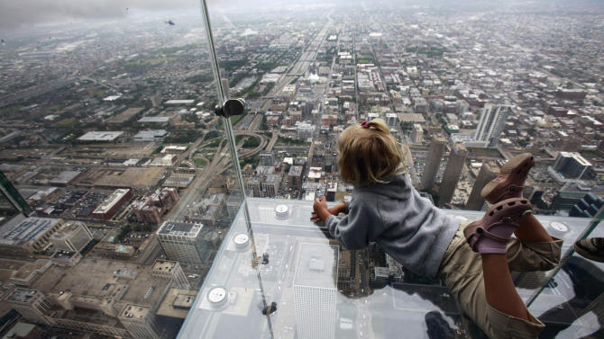 Glass ledges boast more than 6 million visitors