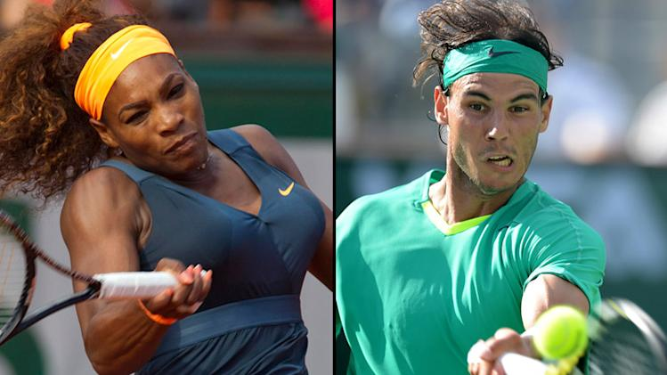 NBCS Serena Williams Rafael Nadal