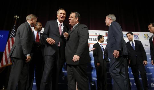 No debate in New Hampshire: Republican gathering sees 14 candidates but few fireworks
