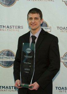 Chicago resident wins Toastmasters' 2013 World Championship of Public Speaking