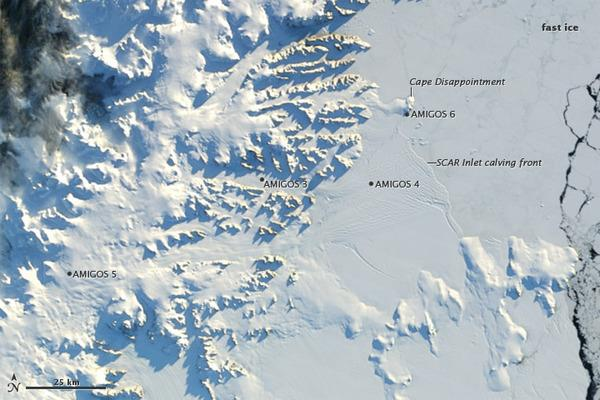 Stunning Antarctic Images Reveal Changes in Continent's Ice