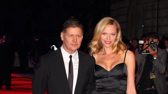 In Time UK Premiere 2011 Andrew Niccol Rachel Roberts