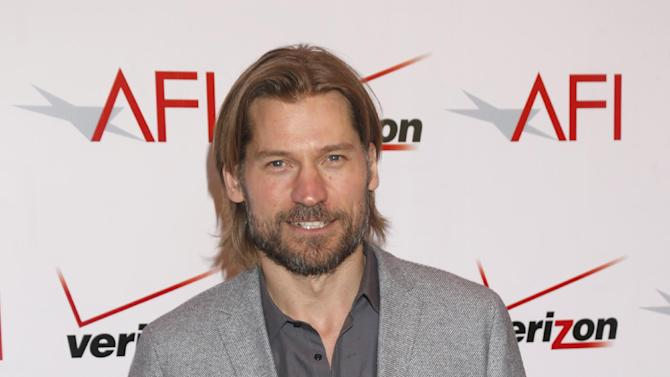 Nikolaj Coster-Waldau attends the 13th Annual AFI Awards Luncheon at the Four Seasons Hotel Los Angeles at Beverly Hills on Friday, January 11, 2013 in Los Angeles. (Photo by Todd Williamson/Invision/AP)