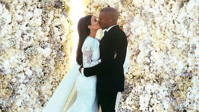 Watch Kim and Kanye's First Dance as Husband and Wife One Year Later