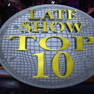 David Letterman - Celebrity Memorabilia Top Ten