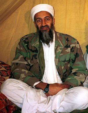 FILE - This is an undated file photo of al Qaida leader Osama bin Laden, in Afghanistan. A selection of documents seized in last year's raid on bin Laden's Pakistan house was posted online Thursday, May 3, 2012 by the U.S. Army's Combating Terrorism Center. The documents show dark days for al-Qaida and its hunkered-down leader after years of attacks by the United States and what bin Laden saw as bumbling within his own organization and its terrorist allies.  (AP Photo, File)