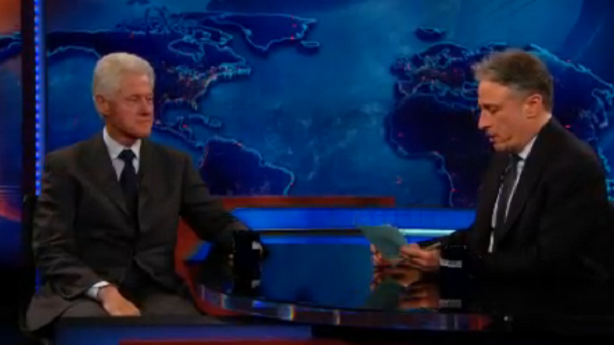 Bill Clinton Tells Jon Stewart His Speech Secrets
