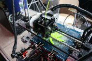 An early model 3D printer from SeeMeCNC.com