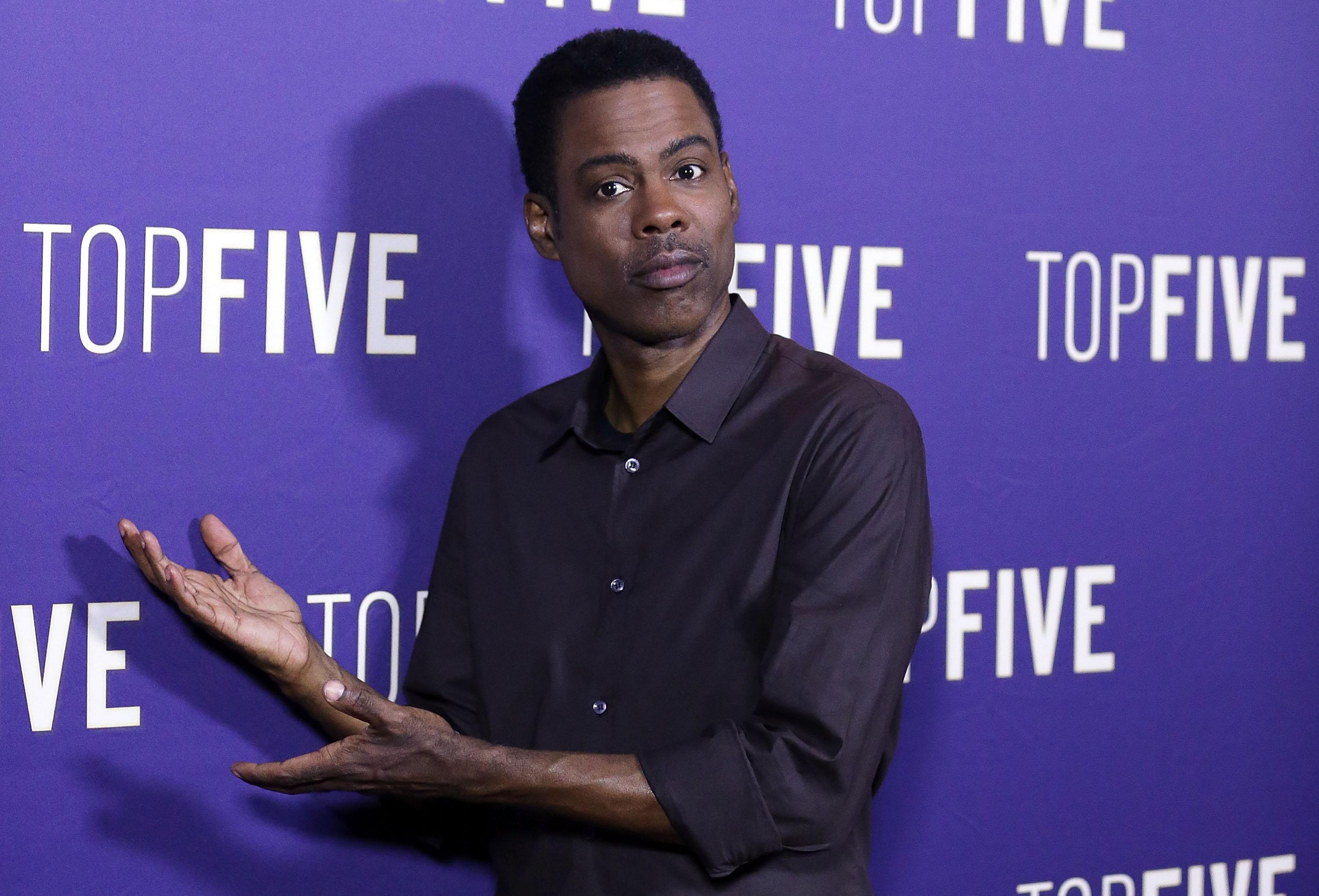 Chris Rock says he was stopped by police
