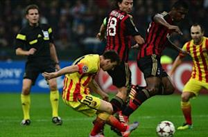 Mascherano: I'm to blame for Milan draw