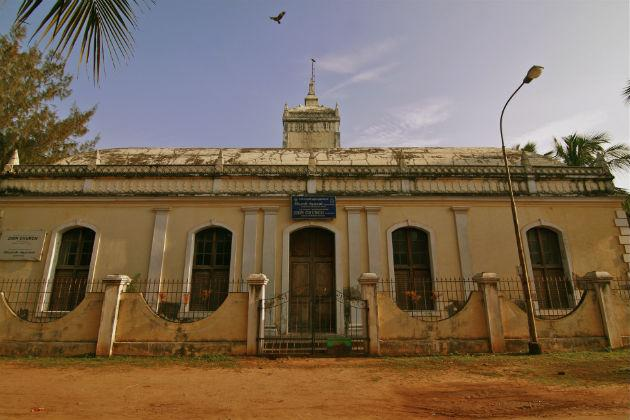 Tranquebar - Zion Church