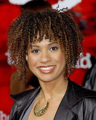 Tracie Thoms at the Los Angeles premiere of New Line Cinema's The Number 23