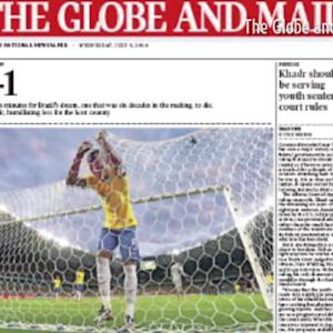 'Shame,' 'Madness,' and More: GERvsBRA Is Front Page News