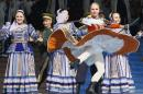 File photo of Members of Russian ensemble performing a traditional Cossack's dance during the opening of the 3rd Krasnoyarsk Asian-Pacific International musical festival in Krasnoyarsk
