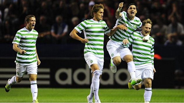 Celtic win in Sweden to take charge of play-off
