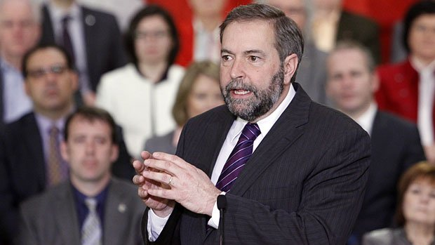 NDP Leader Thomas Mulcair will speak at the NDP convention in Saint John, NB this weekend.