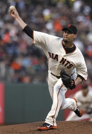 Cabrera leads Giants past Diamondbacks 3-1