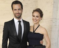 Benjamin Millepied and Natalie Portman step out in style at the New York City Ballet's Spring Gala at the David H. Koch Theater, Lincoln Center in New York City on May 10, 2012 -- Getty Images