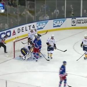 Pekka Rinne Save on Dan Boyle (02:19/1st)