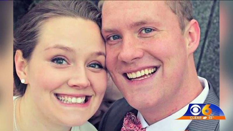 Couple Finds Mystery Figure in Wedding Photo