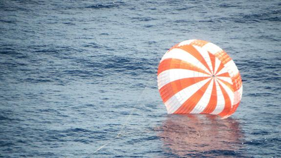 Recovered SpaceX Capsule Arrives at California Port