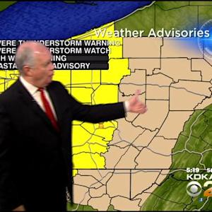 KDKA-TV Evening Forecast (12/24)