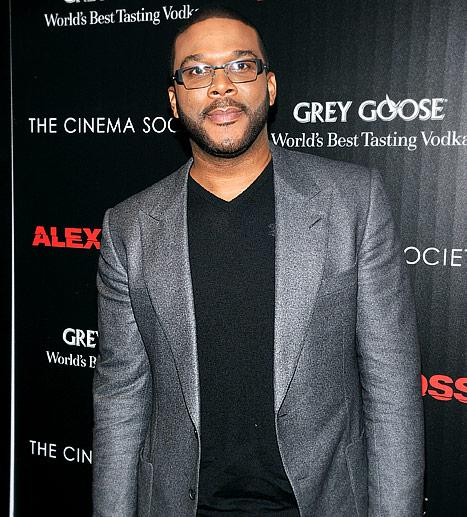 "Slimmer Tyler Perry: ""I'm Laying Off the Donuts!"""