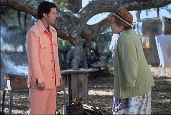Adam Sandler and Kathy Bates in Touchstone's The Waterboy