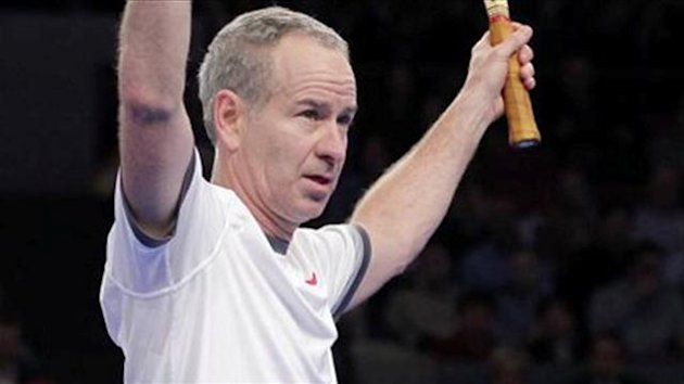 TENNIS John McEnroe
