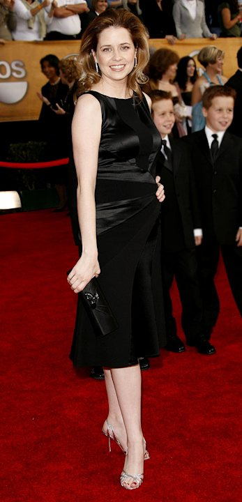 Jenna Fischer at the 13th Annual Screen Actors Guild Awards.